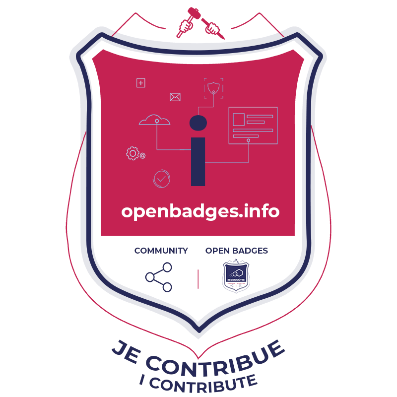 open badge contribution